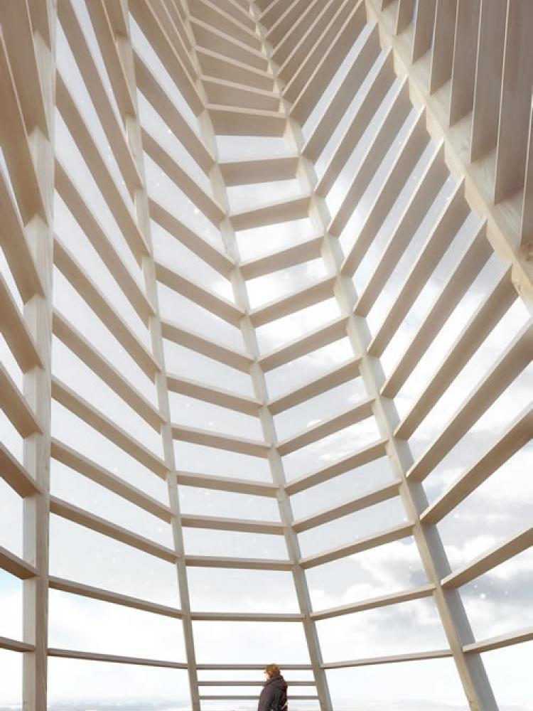 IKAREUM Nikolaikirche Aussichtsplattform © Luxigon